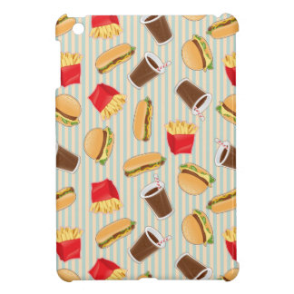 Fast Food Pattern 2 Cover For The iPad Mini