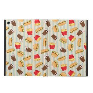Fast Food Pattern 2 iPad Air Covers