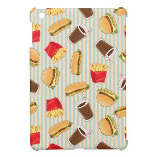 Fast Food Pattern 2 iPad Mini Covers