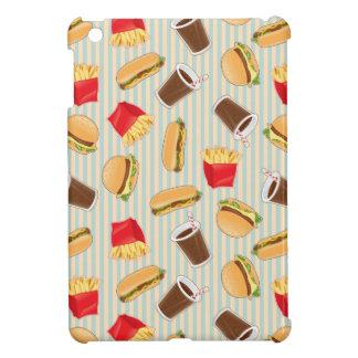 Fast Food Pattern 2 iPad Mini Cover