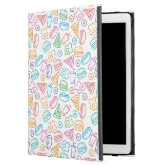 """Fast food pattern 2 iPad pro 12.9"""" case"""