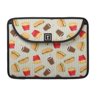 Fast Food Pattern 2 Sleeves For MacBooks