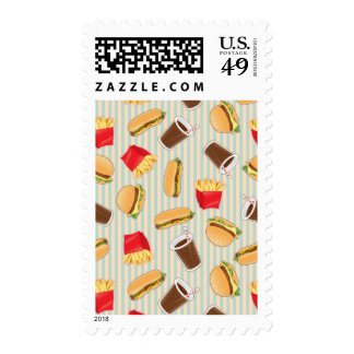 Fast Food Pattern 2 Stamps