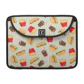 Fast Food Pattern 2 Sleeves For MacBook Pro
