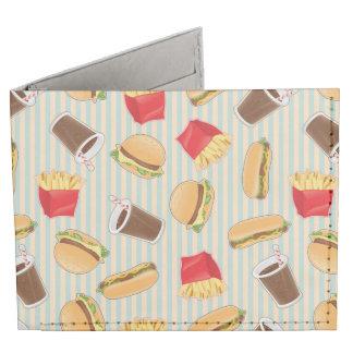 Fast Food Pattern 2 Tyvek Wallet