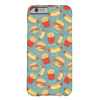 Fast Food Pattern 3 Barely There iPhone 6 Case