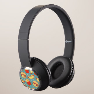 Fast Food Pattern 3 Headphones