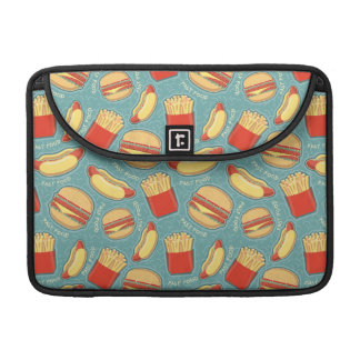 Fast Food Pattern 3 Sleeves For MacBook Pro