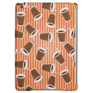 Fast food pattern iPad air cover