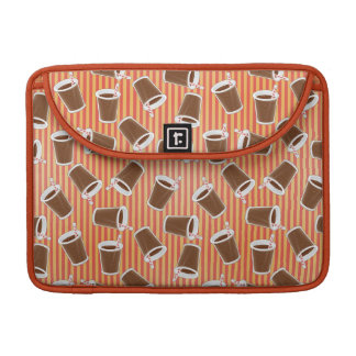 Fast food pattern sleeve for MacBook pro
