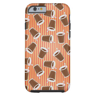 Fast food pattern tough iPhone 6 case