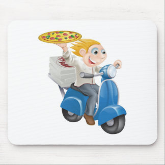 Fast food pizza delivery mouse mats