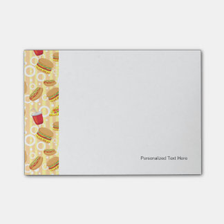 Fast Food Post-it® Notes