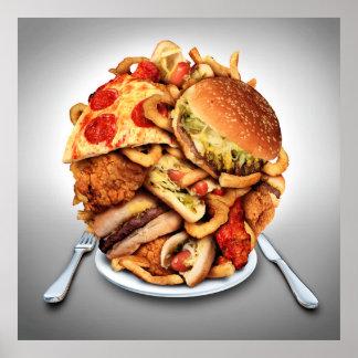 Fast Food Poster - SRF