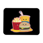 Fast Food Rectangle Magnets