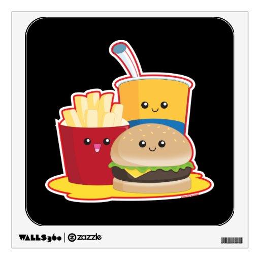 Fast Food Room Sticker