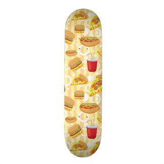 Fast Food Skateboard
