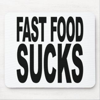 Fast Food Sucks Mouse Pad