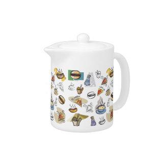 Fast Food Teapot