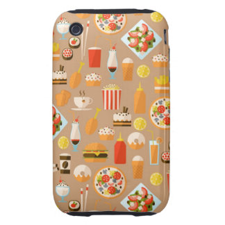 Fast food tough iPhone 3 case