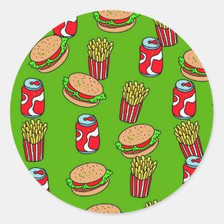 Fast Food Wallpaper Stickers