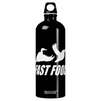 Fast food water fowl w aluminum water bottle