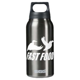 Fast food water fowl w insulated water bottle