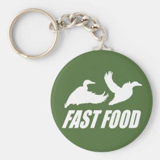 Fast food water fowl w key chain