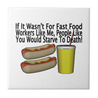 Fast Food Worker Tile
