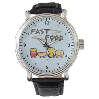 Fast Food Wrist Watch