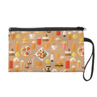Fast food wristlet purse