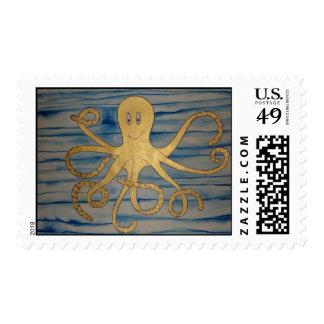 Fast Freddie Postage Stamp