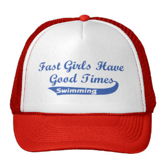 Fast Girls Have Good Times (Blue) Trucker Hat