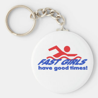 Fast Girls Keychain