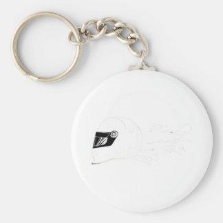 Fast Girls Series Basic Round Button Keychain