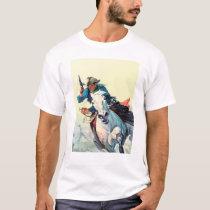 Fast Horse Cowboy T-Shirt