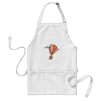 Fast Hot Air Balloon Adult Apron