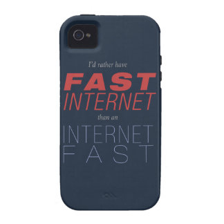Fast Internet, not Internet Fasts Vibe iPhone 4 Cover