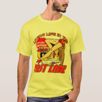 Fast Lane 70th Birthday Gifts T-Shirt