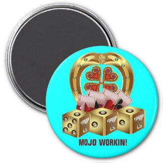 Fast Luck Fridge Magnet