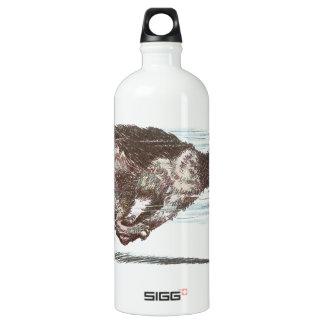 Fast Moving Cat SIGG Traveler 1.0L Water Bottle
