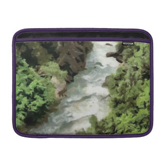 Fast moving river sleeve for MacBook air