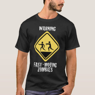 Fast Moving Zombies Dark Shirt