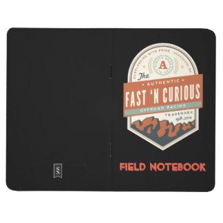 """Fast n' Curious Little Black """"Field Notebook"""" Journal"""