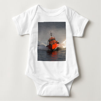 Fast Pilot Boat Baby Bodysuit