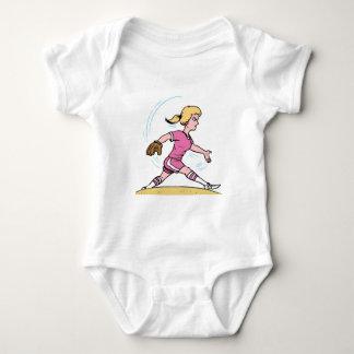 Fast Pitch Baby Bodysuit