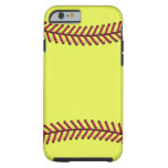 Fast Pitch I phone 6 game day case Tough iPhone 6 Case