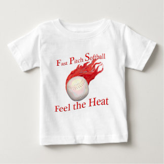 Fast Pitch Softball Baby T-Shirt