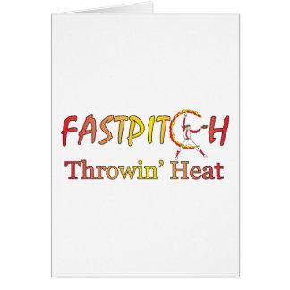 Fast Pitch Softball Version 1 Card
