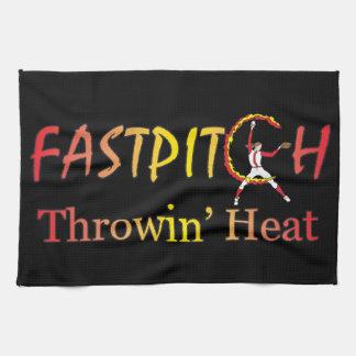 Fast Pitch Softball Version 1 Towel